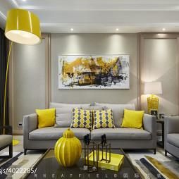 现代格调客厅设计图集