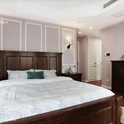 178㎡现代美式卧室设计
