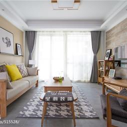 家装日式客厅效果图