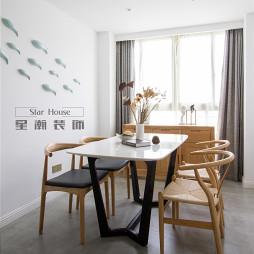 家装日式餐厅效果图