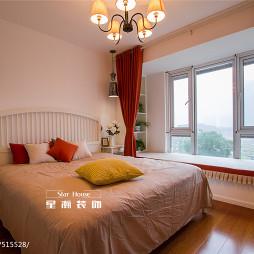 现代风卧室效果图设计装修