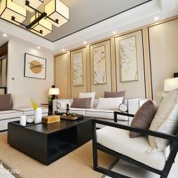 中式格调客厅设计装修