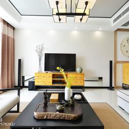 中式格调电视背景墙装修设计