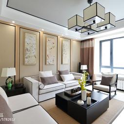 中式格调客厅装修设计