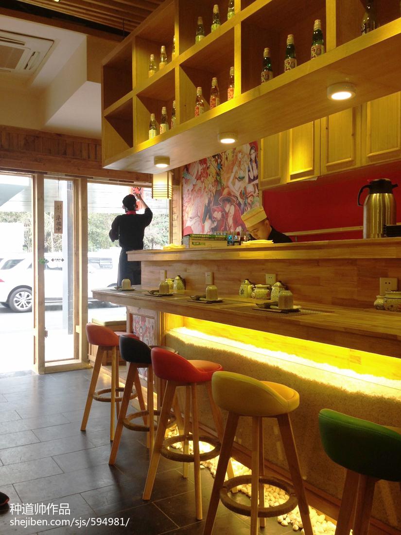 生活资讯_餐厅吧台效果图设计 – 设计本装修效果图