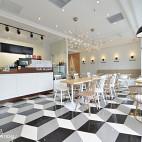 韩国咖啡厅布局设计