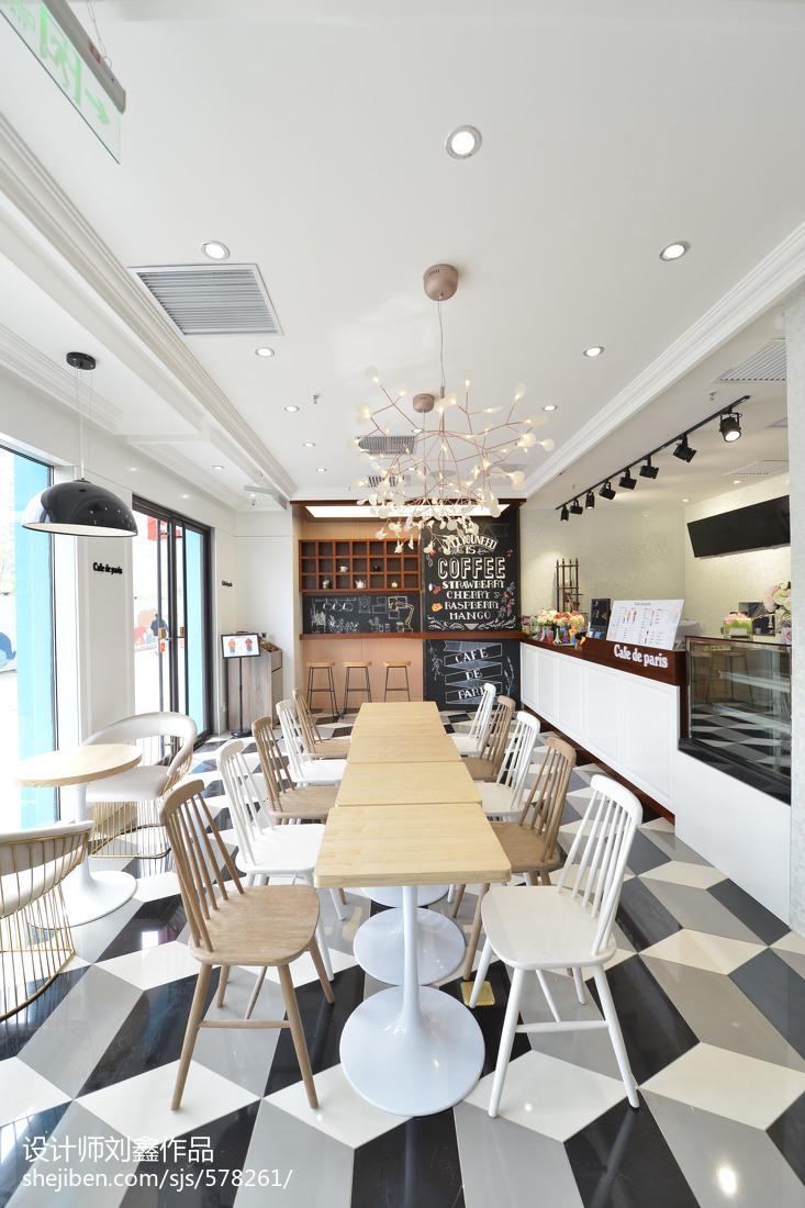韩国咖啡厅桌椅设计