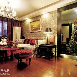 简欧格调客厅设计