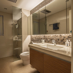 新古典風衛浴設計
