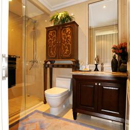 欧式浴室柜效果图