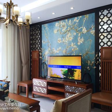 古雅中式风背景墙设计