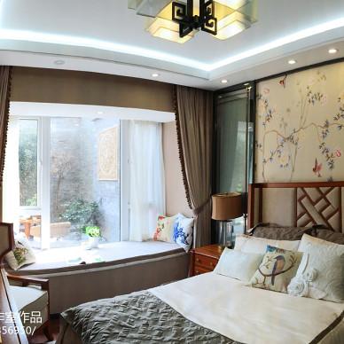 古雅中式风卧室设计