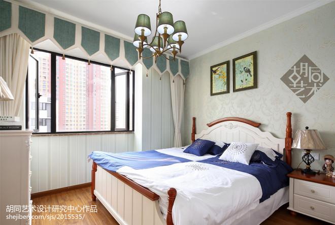 时尚美式卧室效果图