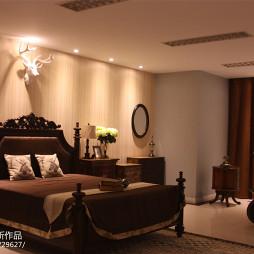 美式乡村卧室装修图