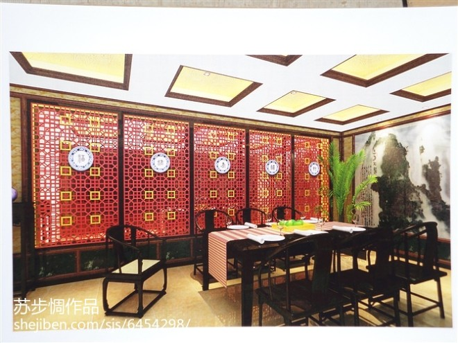 古典中式别墅_2278810