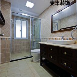 简约美式卫浴装修