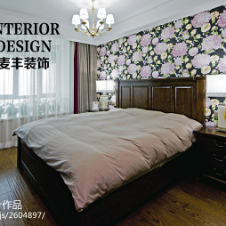 简约美式卧室设计