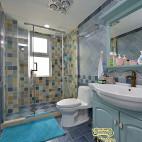 欧式风格卫浴装修图