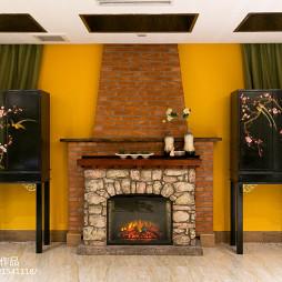 东南亚古典壁炉设计图集