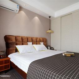 97㎡现代美式卧室衣柜设计