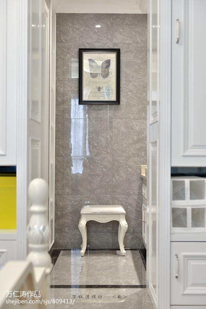 欧式卫生间装修设计效果图