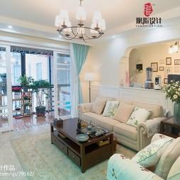 美式现代沙发