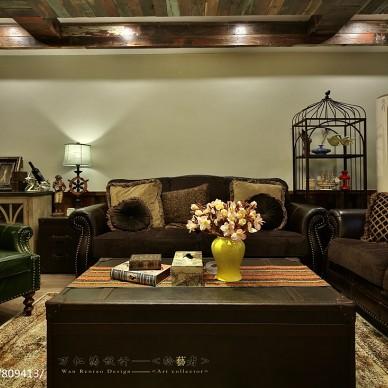 美式乡村风格的客厅