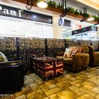 女王咖啡厅卡座区装修图