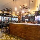 女王咖啡厅收银台装修图