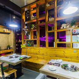 餐饮空间餐位装修图