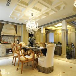 家装欧式餐厅效果图装修