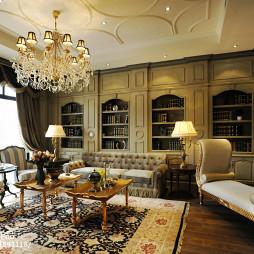 家装欧式客厅效果图装修
