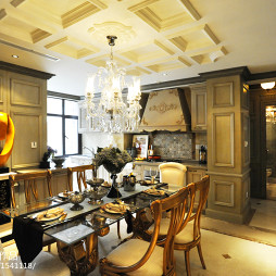家装欧式餐桌效果图装修