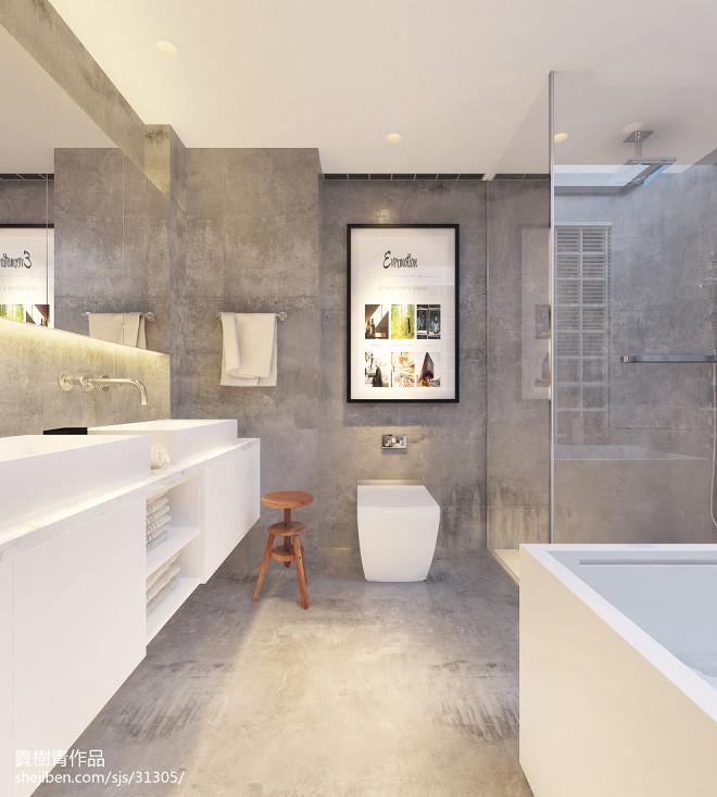 卫生间淋浴房背景墙