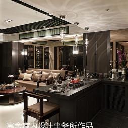 家居中式吧台效果图装修