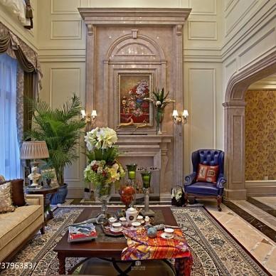 新古典居家客厅装修图集