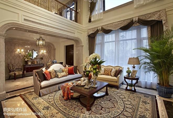 新古典居家客厅装修图册