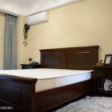 家装美式风格卧室效果图