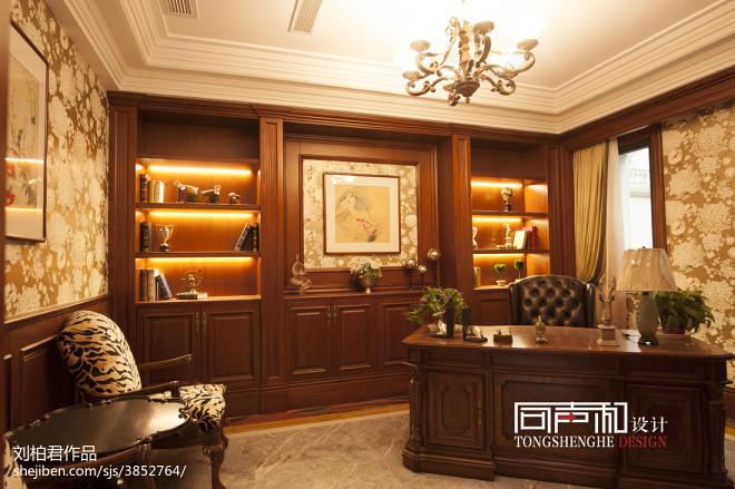 家装欧式书房装修图
