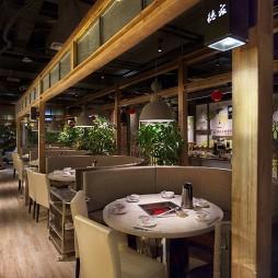 公装中餐厅餐位设计