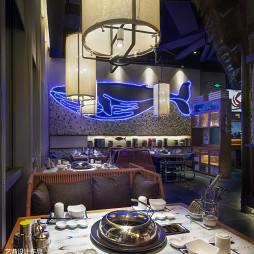 近海蒸鲜餐厅餐桌设计