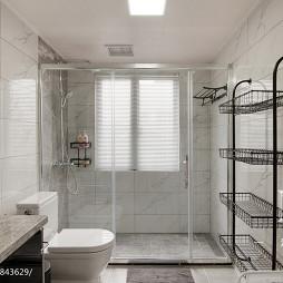 时尚混搭卫浴装修图