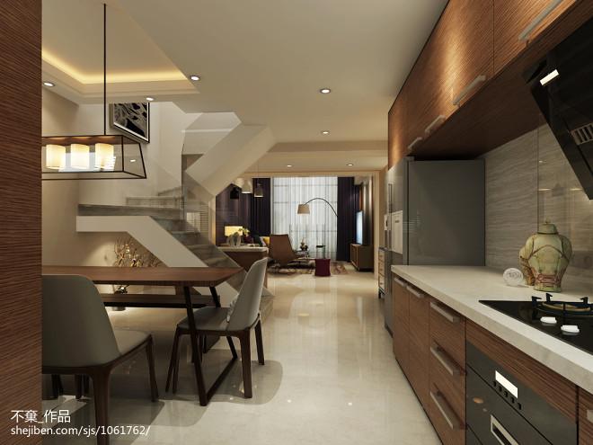 现代敞开式厨房