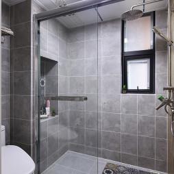 家装简约美式卫生间设计