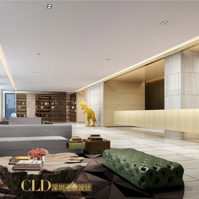 卡尔设计CLD——深圳水榭春天酒店改造(Shenzhen waterside The Spring Ho**)_2299740