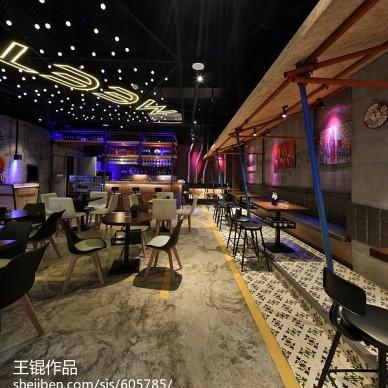 公装现代风情餐厅效果图装修