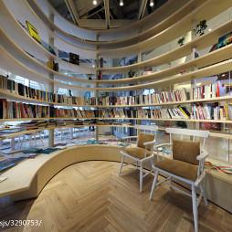 时尚购物商场书架设计