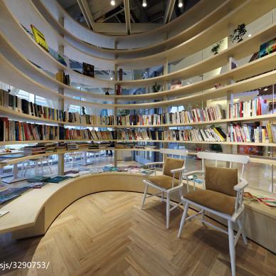 時尚購物商場書架設計