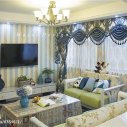 家装地中海风客厅设计