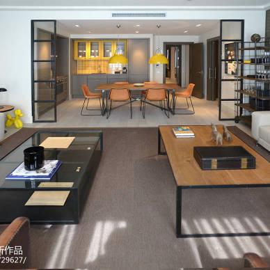 都市现代客厅设计图